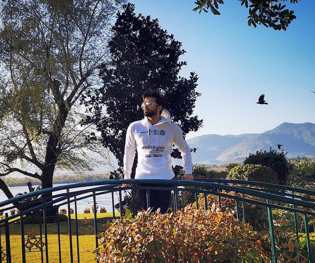 Azfar Rehman Shares Beautiful Pictures From His Vacation