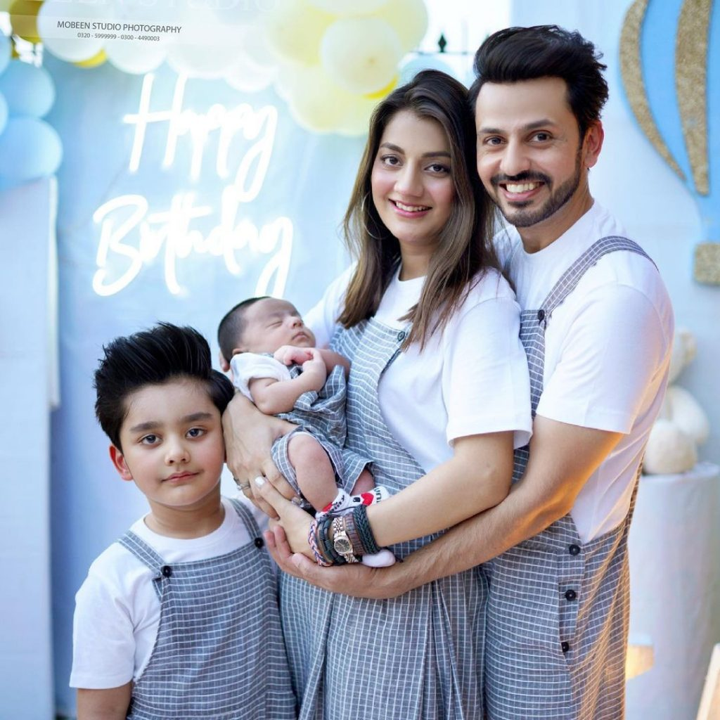 Beautiful Pictures From Bilal Qureshi's Son Sohaan's 5th Birthday
