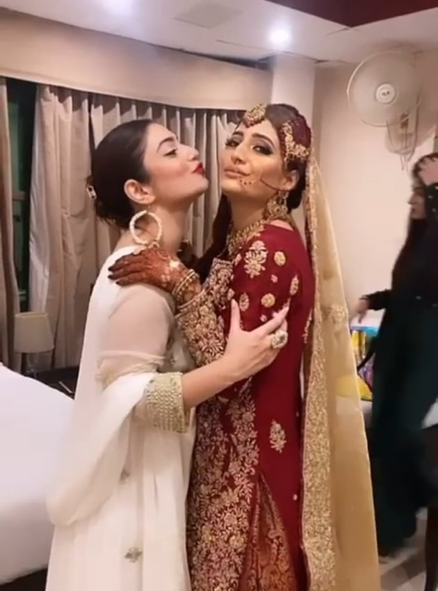 Hanish Qureshi At Her Friend's Wedding-Beautiful Pictures