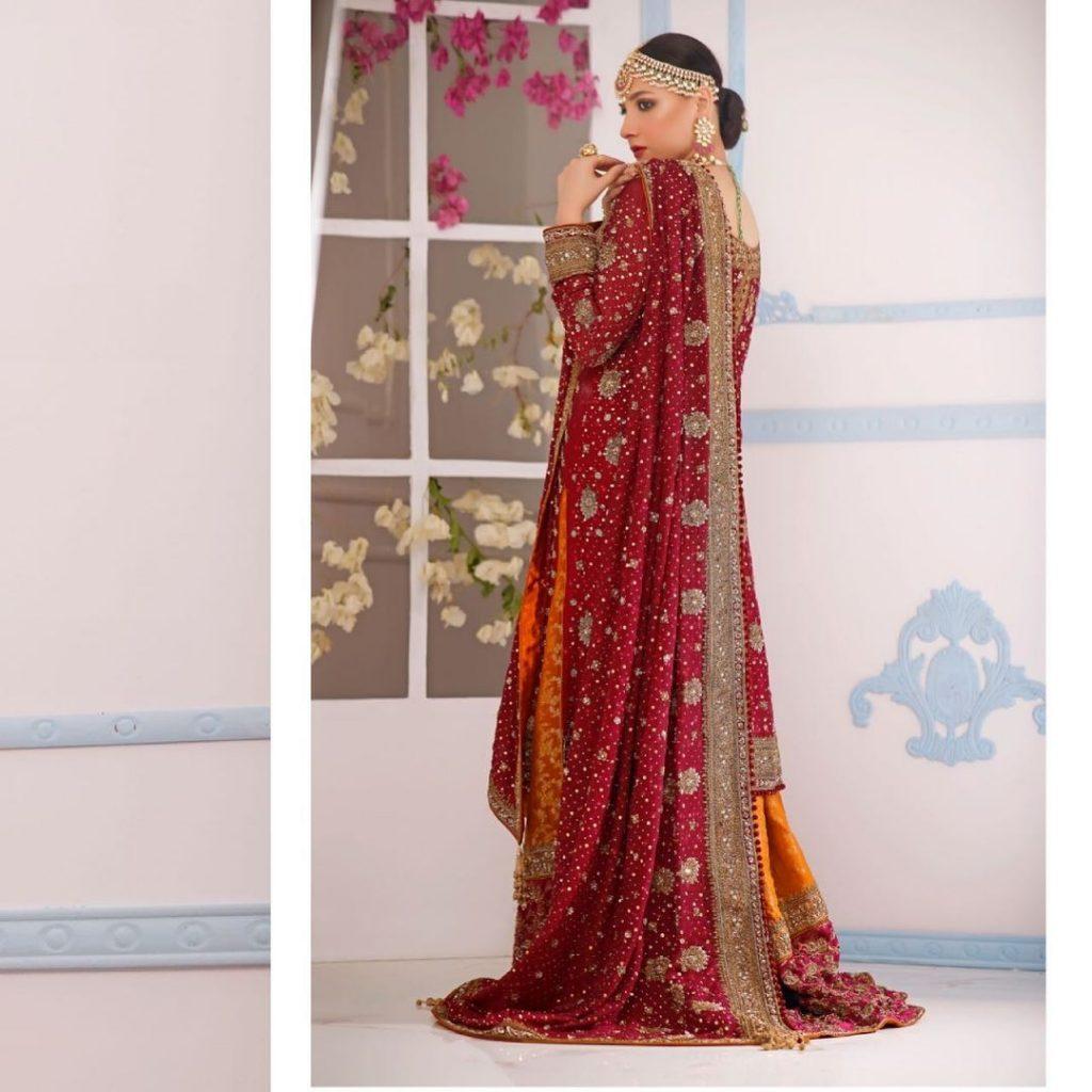 Hina Altaf Flaunts Elegance In Her Latest Bridal Shoot