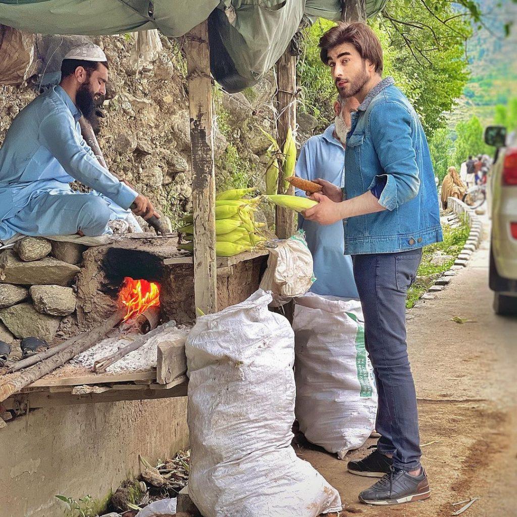 Imran Abbas Enjoying His Vacations In Northern Areas Of Pakistan