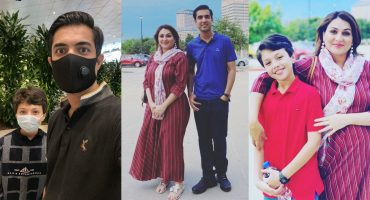 Iqrar Ul Hassan Vacationing With First Wife And Son In Dallas