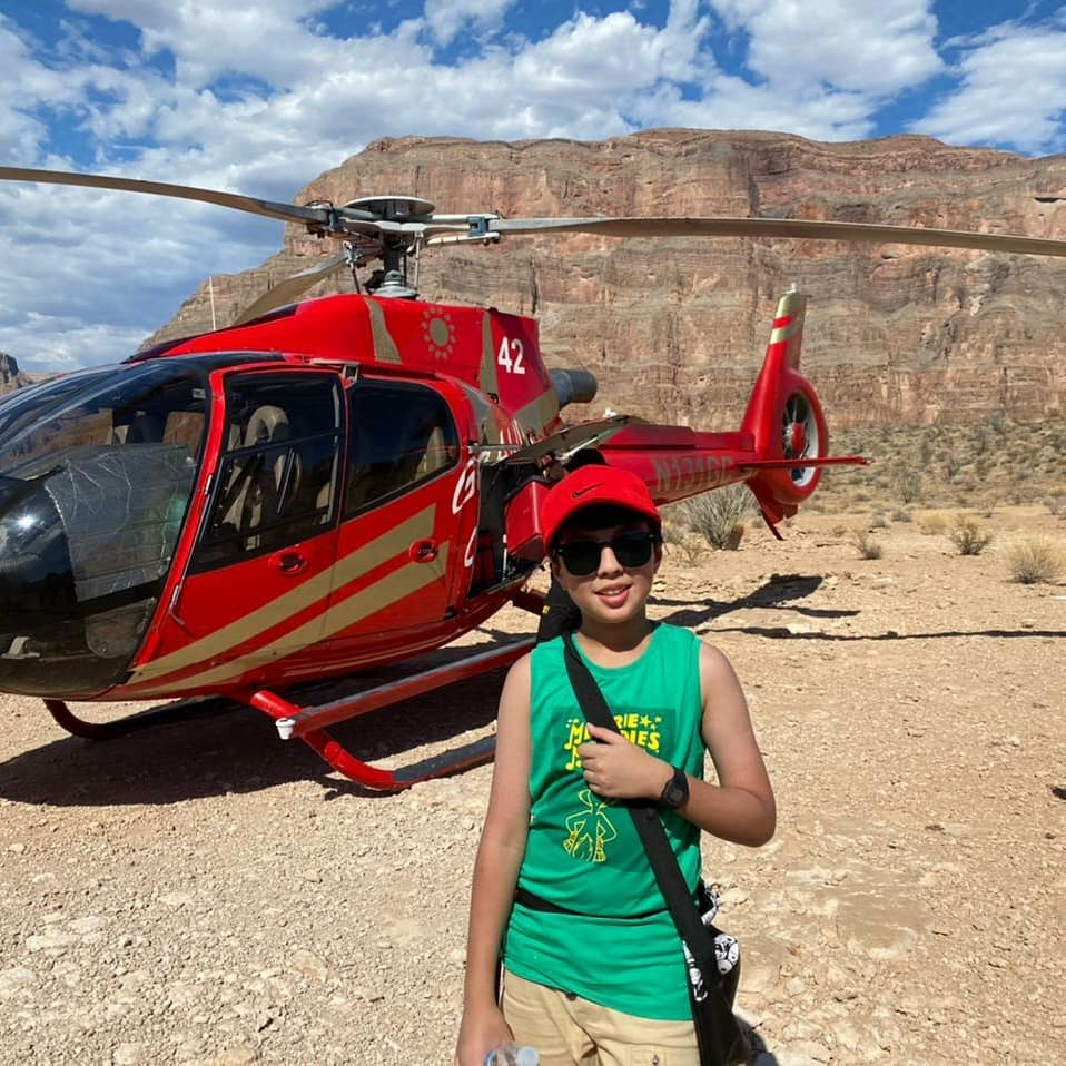 Iqrar Ul Hassan Exploring Grand Canyon National Park Arizona With Family
