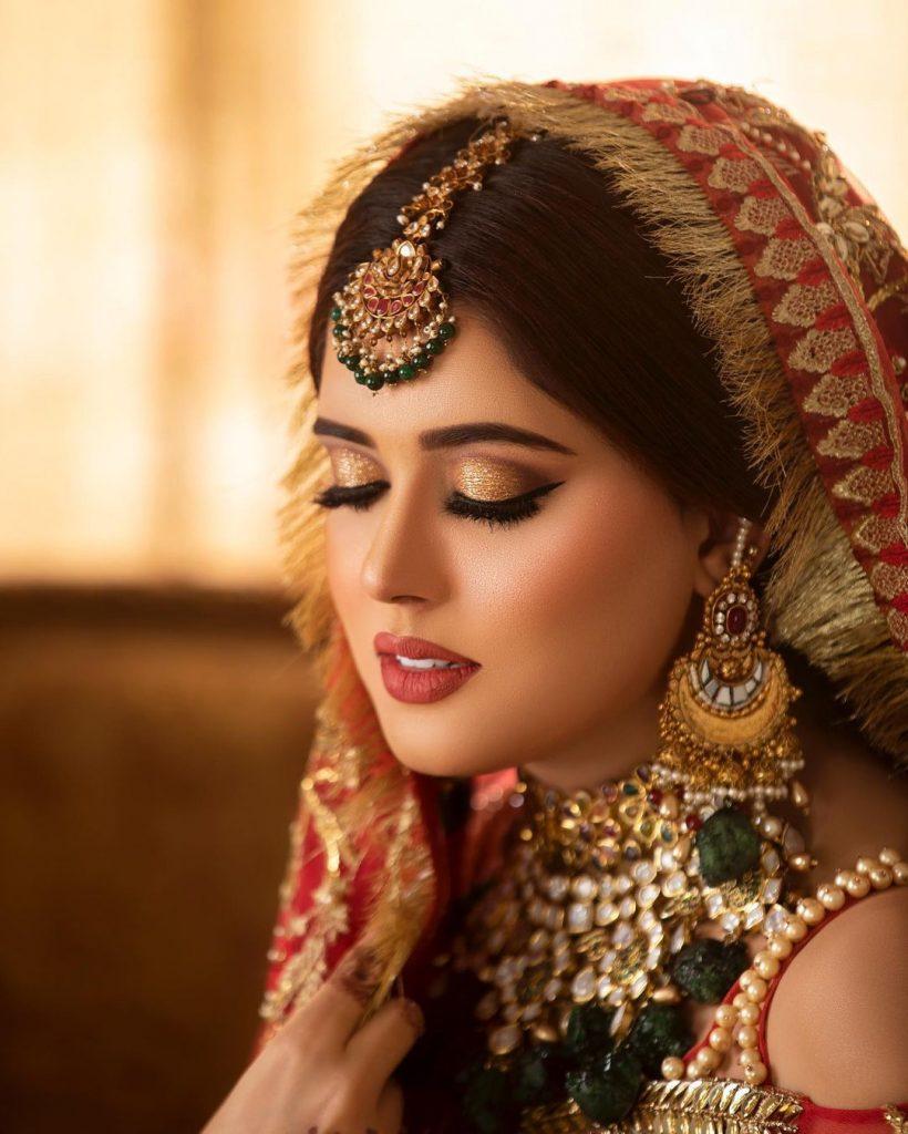 Kanwal Aftab Looks Regal In A Gorgeous Bridal Shoot
