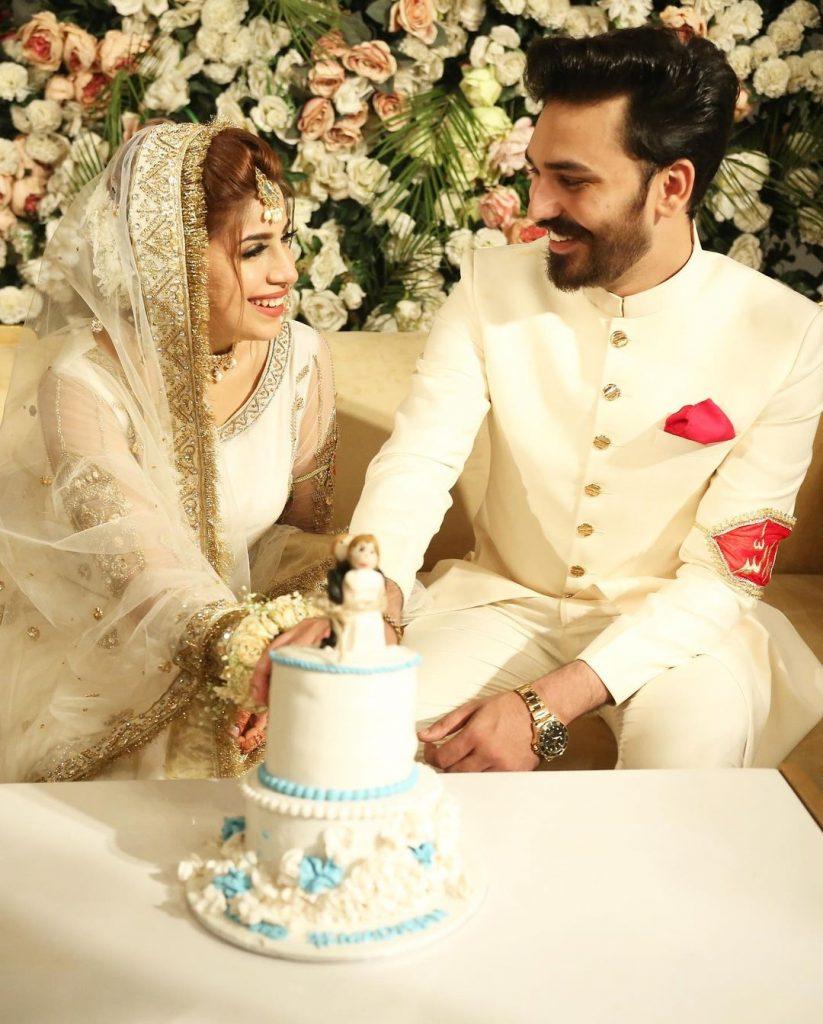 Beautiful Wedding Pictures Of TikTok Star Dr Madiha Khan And MJ Ahsan