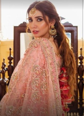Mohsin Naveed Ranjha Bridal Collection Featuring Mahira Khan