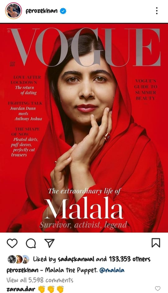 Celebrities React To Malala's Recent Statement About Marriage