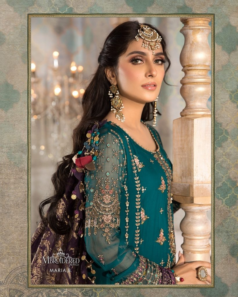 Mbroidered Heritage Collection 21 By Maria.B Featuring Ayeza Khan