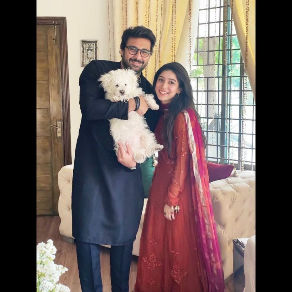 Mariyam Nafees Pictures With Fiance