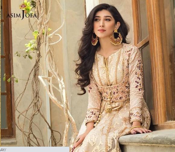 Asim Jofa Chiffon Collection 2021 Featuring Maryam Nafees And Ayesha Omar
