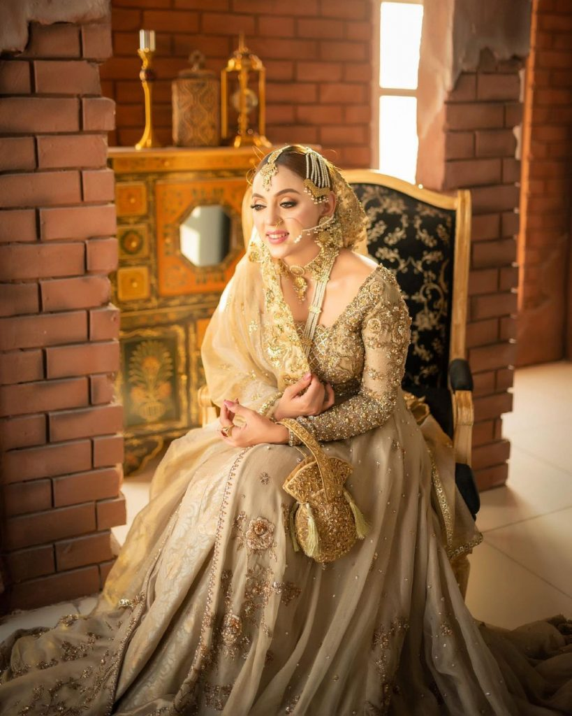 Gorgeous Maryam Noor Makes A Stunning Bride In Her Latest Shoot