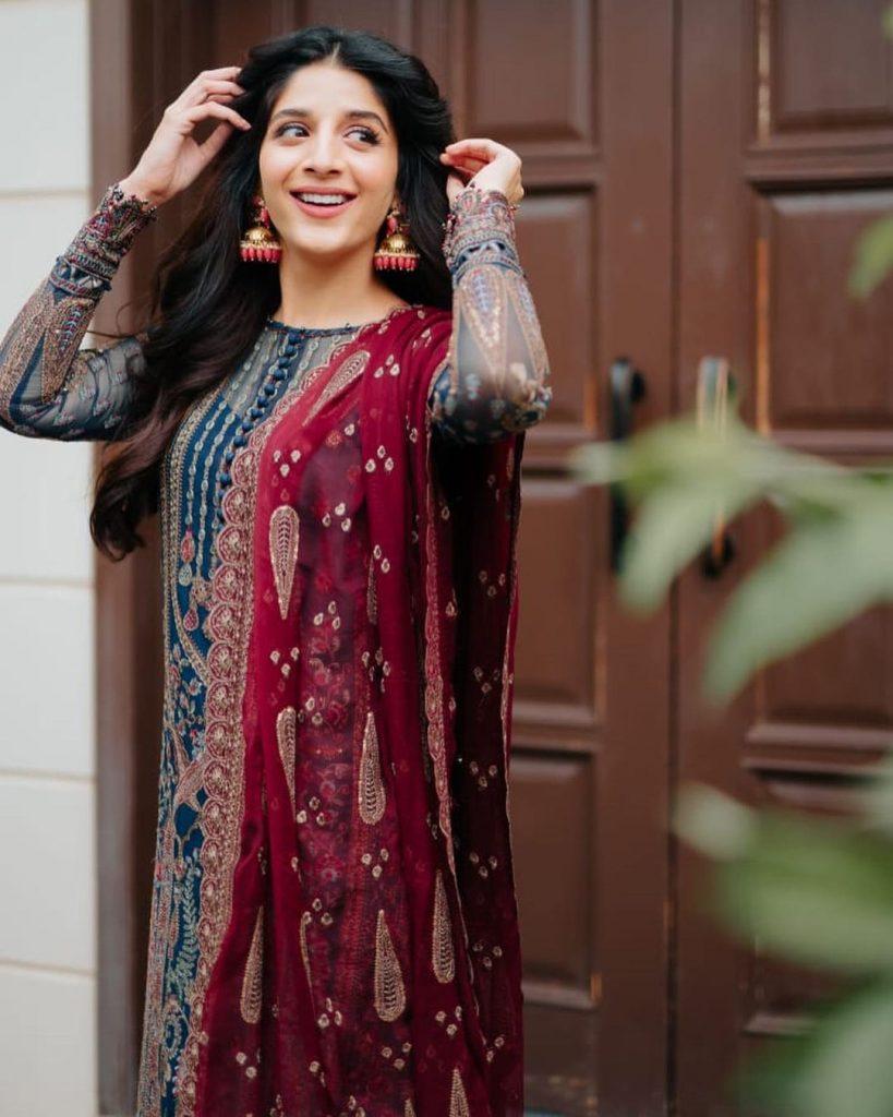Latest Glamorous Pictures Of Mawra Hocane