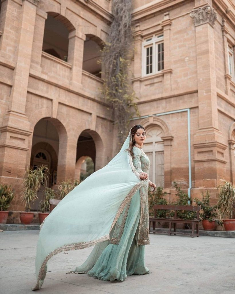 Engagement Photo Shoot Of Minal Khan And Ahsan Mohsin Ikram