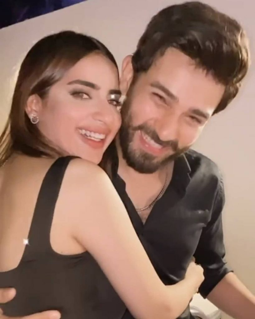 Minal Khan And Ahsan Mohsin's Post Engagement Party