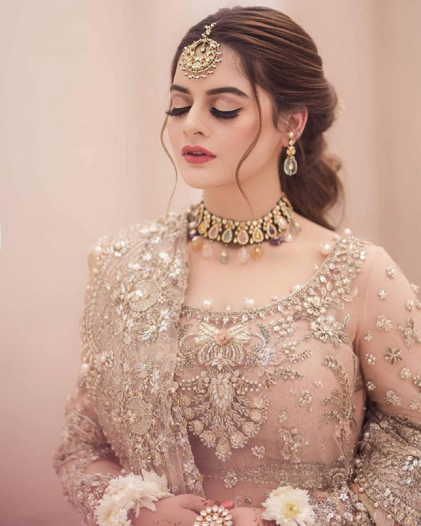 Minal Khan Nails Ethereal Elegance In Her Latest Bridal Shoot