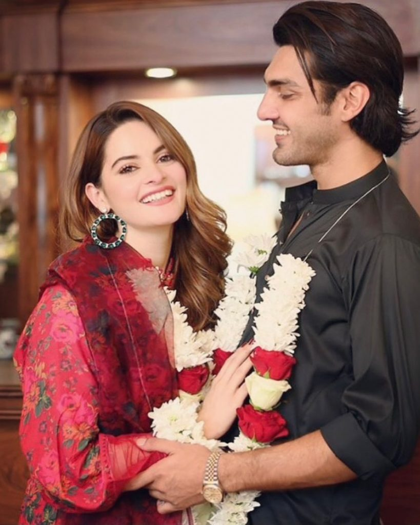 Minal Khan And Ahsan Mohsin's Engagement Invites Are Out