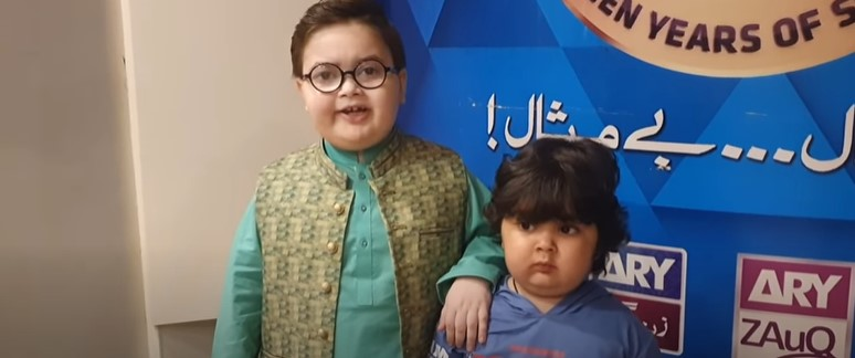 Ahmed Shah And Omer Shah Challenged Nadia Khan's Son Kiaan For A Fight