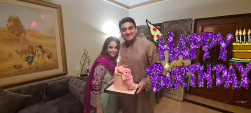 Nadia Khan's Birthday Celebration- Adorable Pictures
