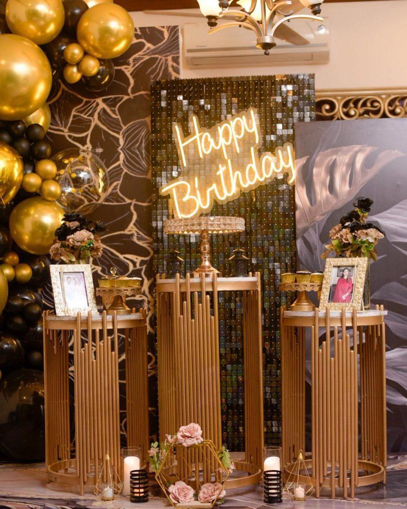 Naveed Raza Celebrates Birthday Of His Wife Dr Kanwal
