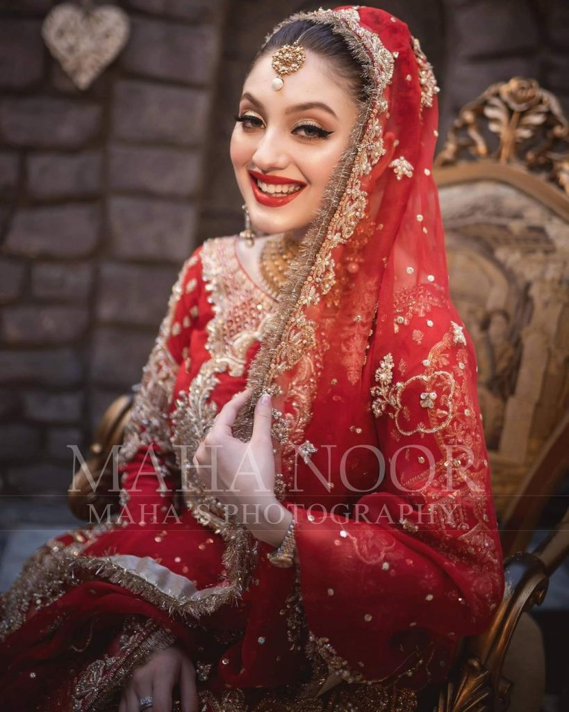 Neha Rajpoot Flaunts Elegance In A Tradition Bridal Look