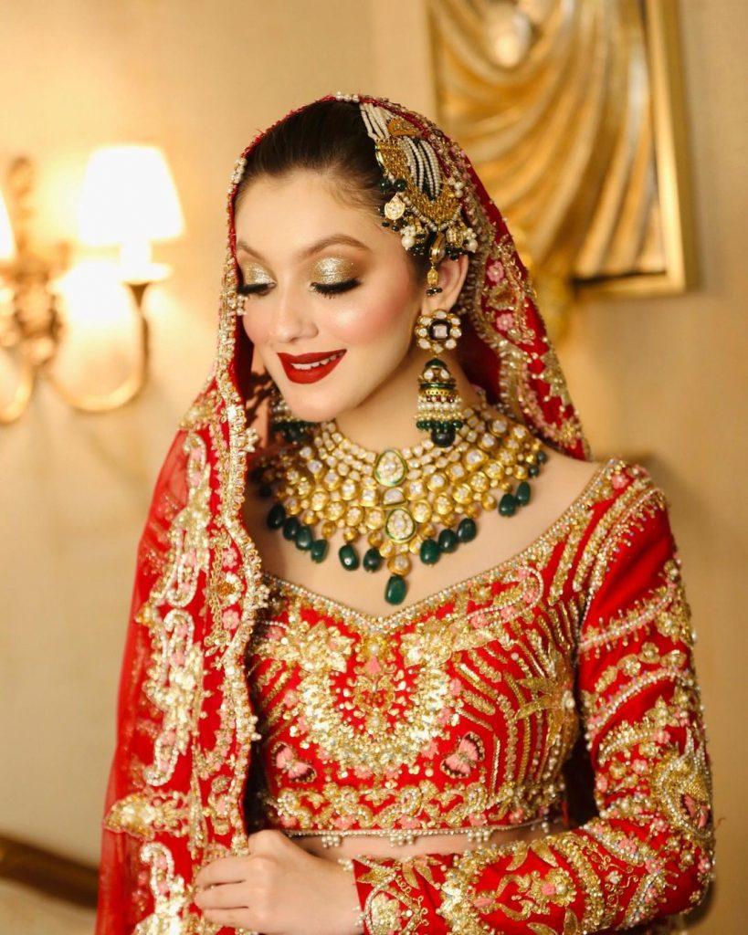 Neha Rajpoot Pulling Off Traditional Bridal Looks Like A Pro