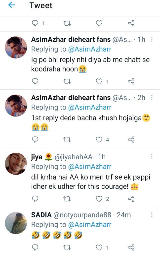 Netizens' Mixed Reaction on Asim Azhar's Indirect Jab at Hania
