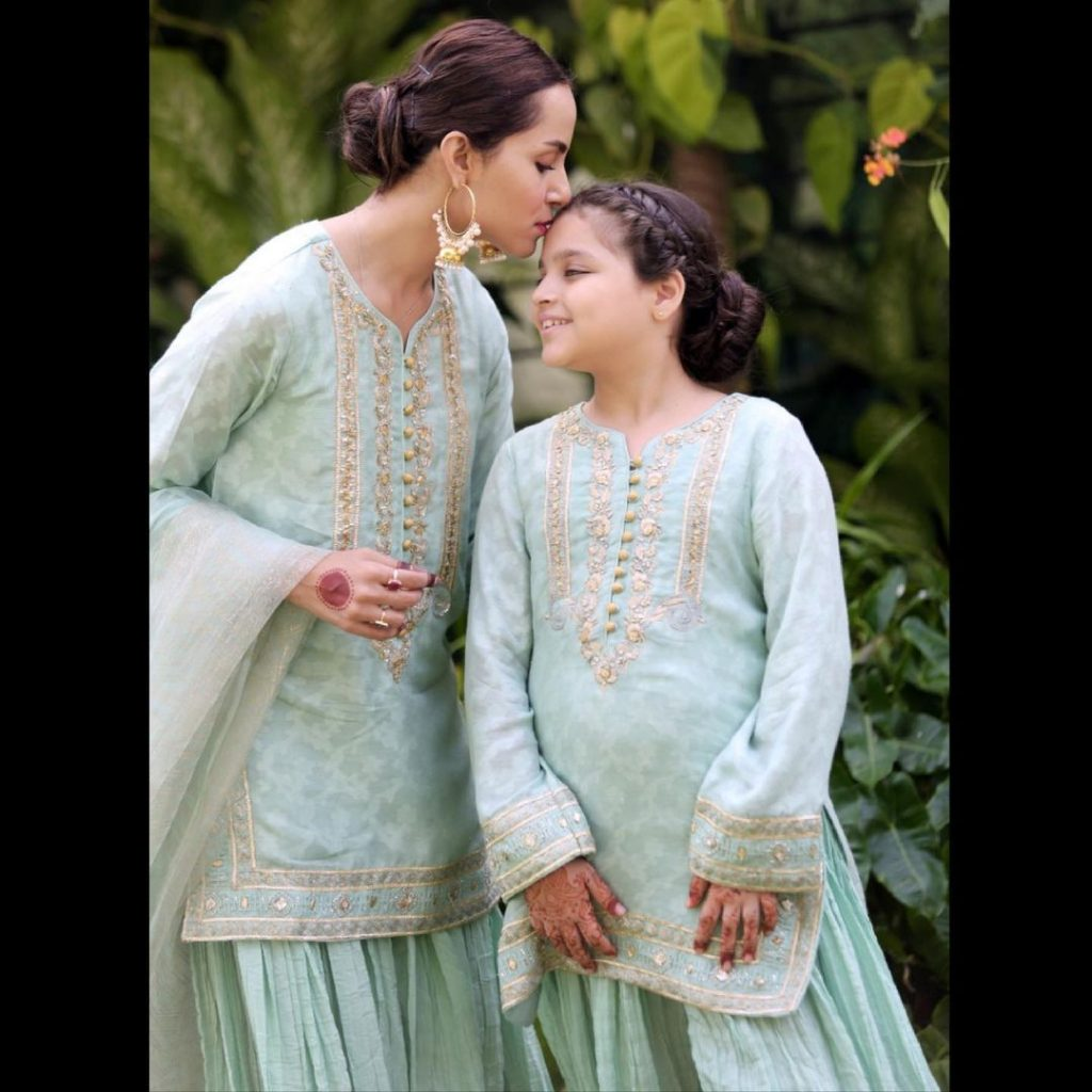 Adorable Portraits Of Nimra Khan And Her Younger Sister