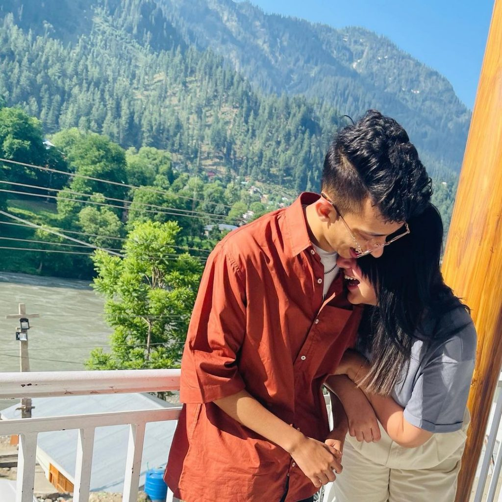 Viral Couple Nimra And Asad Vacationing In Northern Areas Of Pakistan