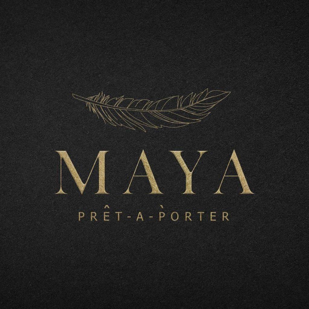 Maya Ali Posing For Her Own Clothing Line MAYA Prêt-a-Porter