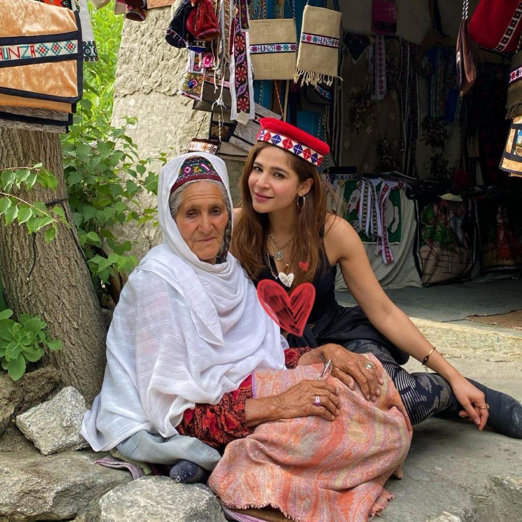 Pakistani Celebrities Enjoying Vacations In Northern Areas Of Pakistan