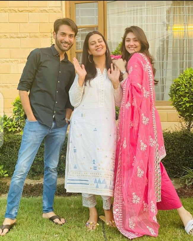 BTS Pictures From The Sets Of Drama Serial Pardes