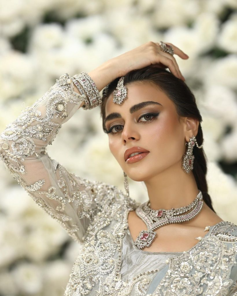 Erum Khan Couture Summer Bridal Collection Featuring Sadaf Kanwal