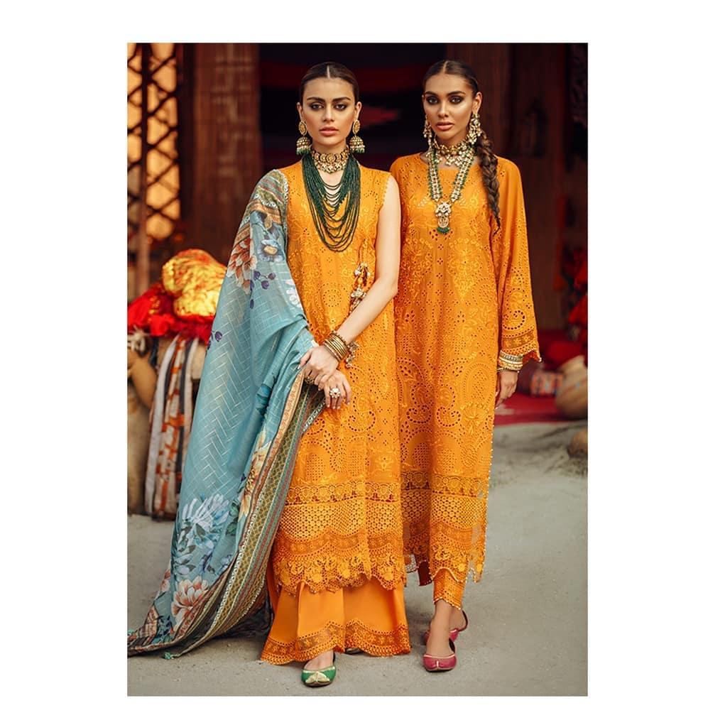 "Nuréh Luxury Eid Collection ""RANISA"" Featuring Sadaf Kanwal"