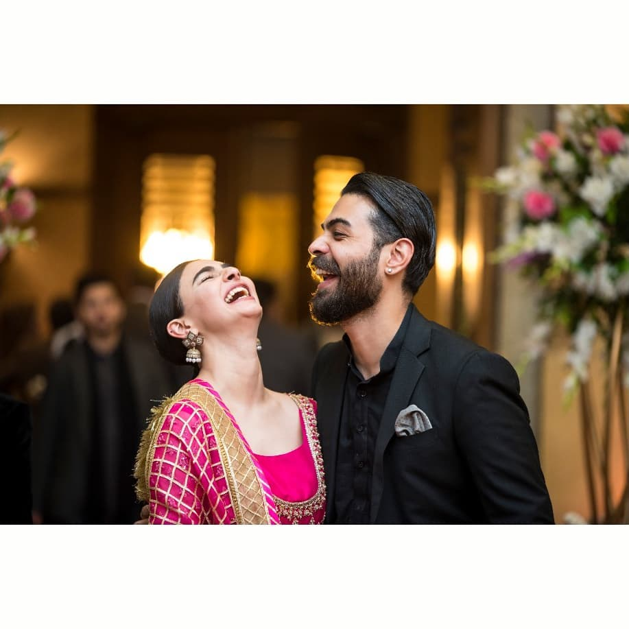 Adorable Pictures Of Saheefa Jabbar Khattak With Her Husband
