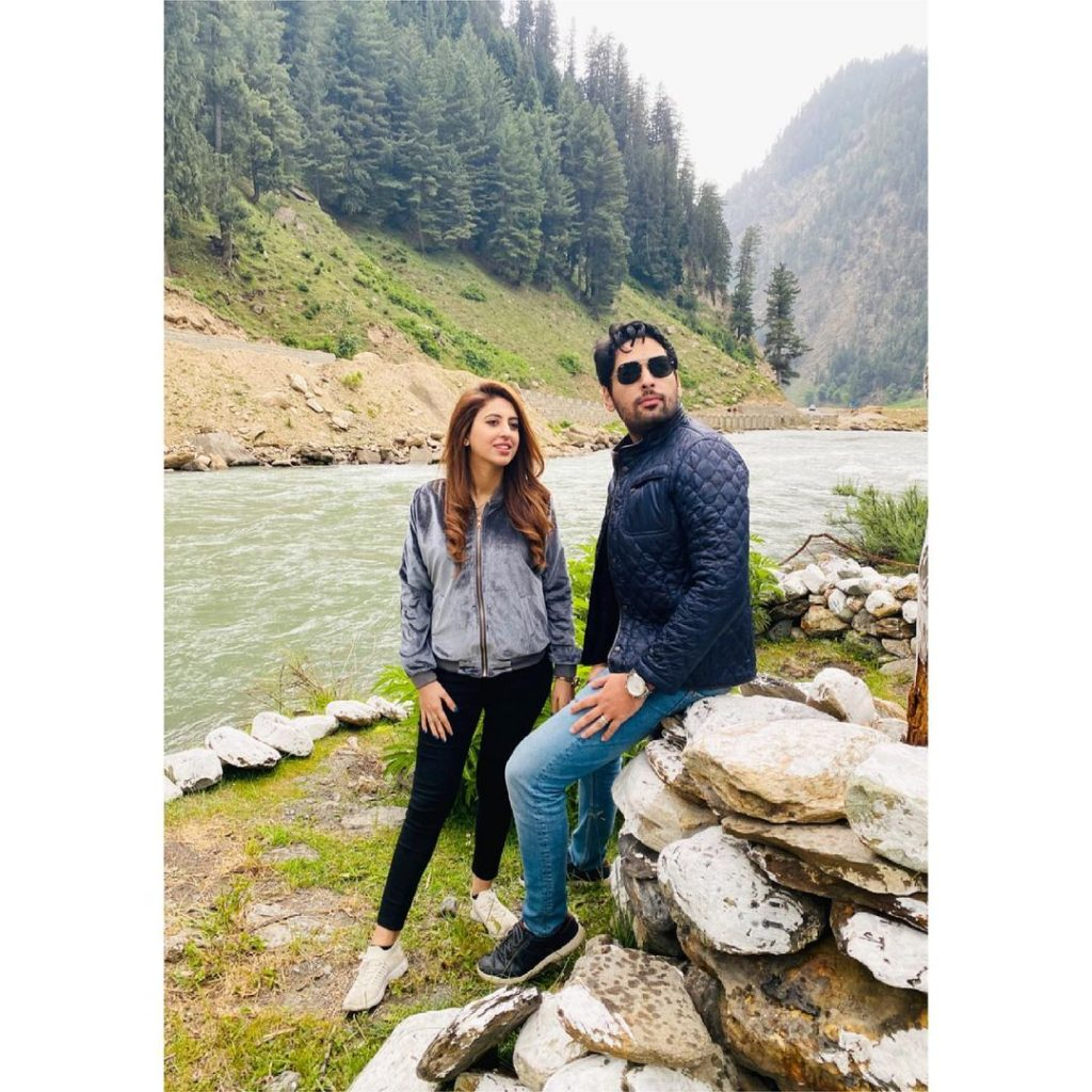 Salman Saeed Vacationing With Wife In Northern Areas Of Pakistan