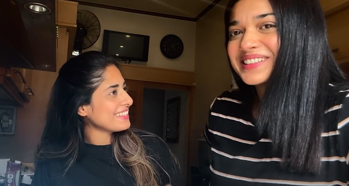 Sanam Jung Cooking With Her Family - New Vlog
