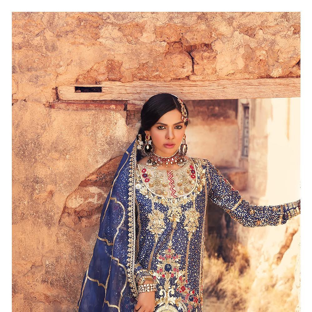 Sara Loren Looks Like A Vision In Her Latest Bridal Shoot
