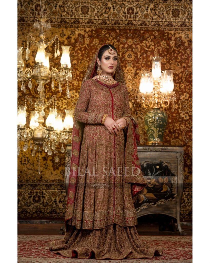 HSY Bridal Wear Featuring Sarah Khan