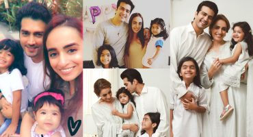 Shahzad Sheikh With His Family-Adorable Pictures
