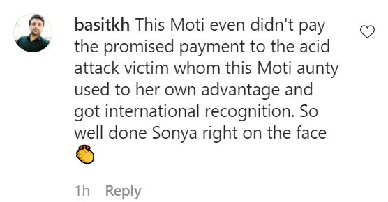 Public Reaction On Sonya Hussyn's Response To Sharmeen Obaid