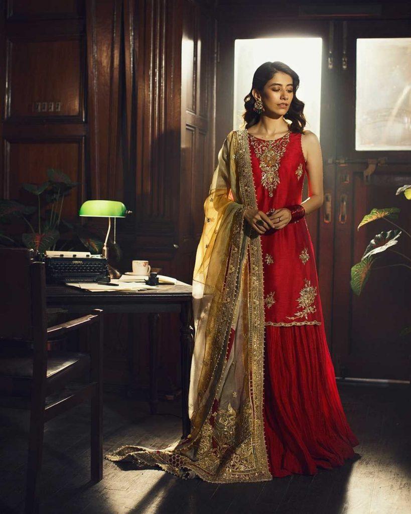 Faiza Saqlain's Latest Formal Collection Featuring Syra Yousaf