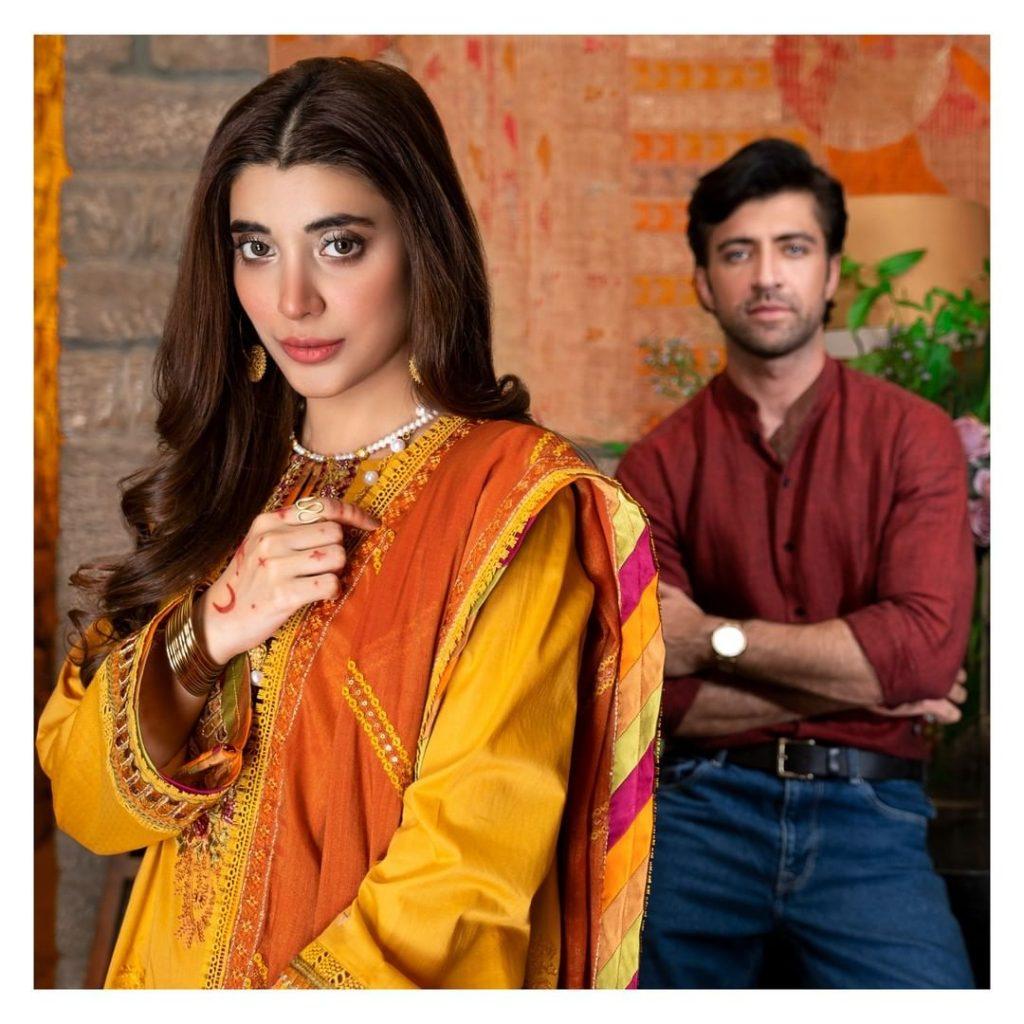 Urwa Hocane And Aimal Khan Pair Up For Rangrasiya Premium Eid Edit Vol 2