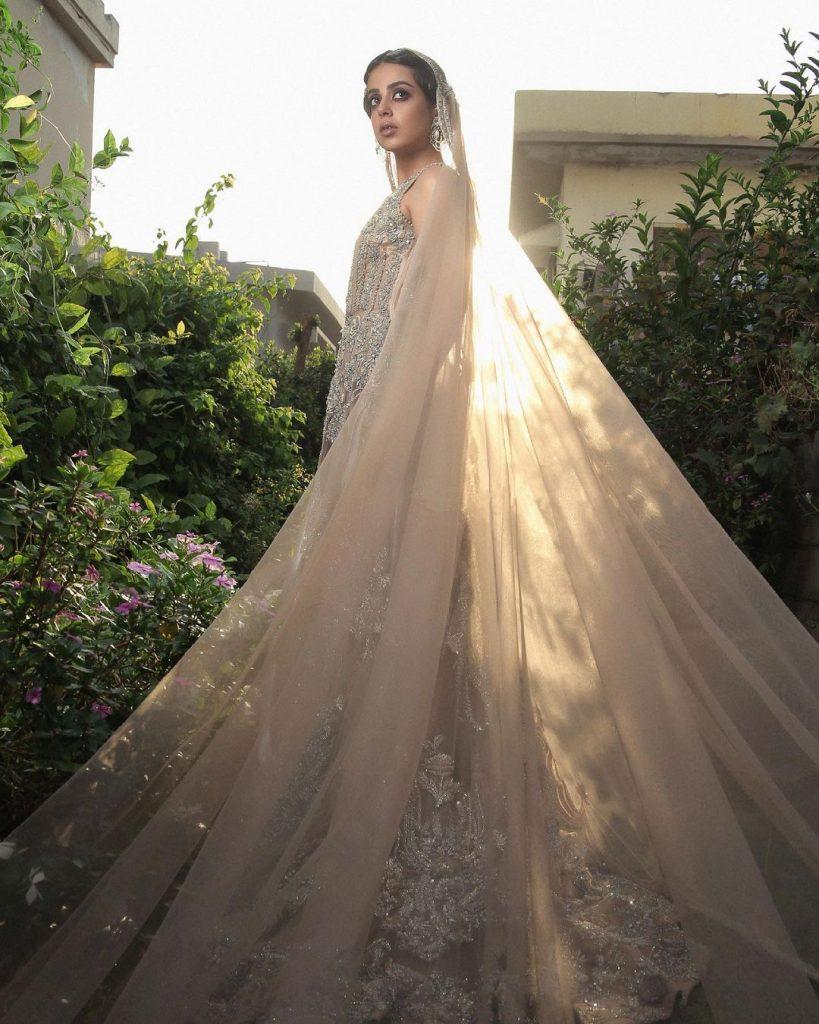 Saira Shakira Contemporary Bridal Wear 2021 Featuring Yashma Gill
