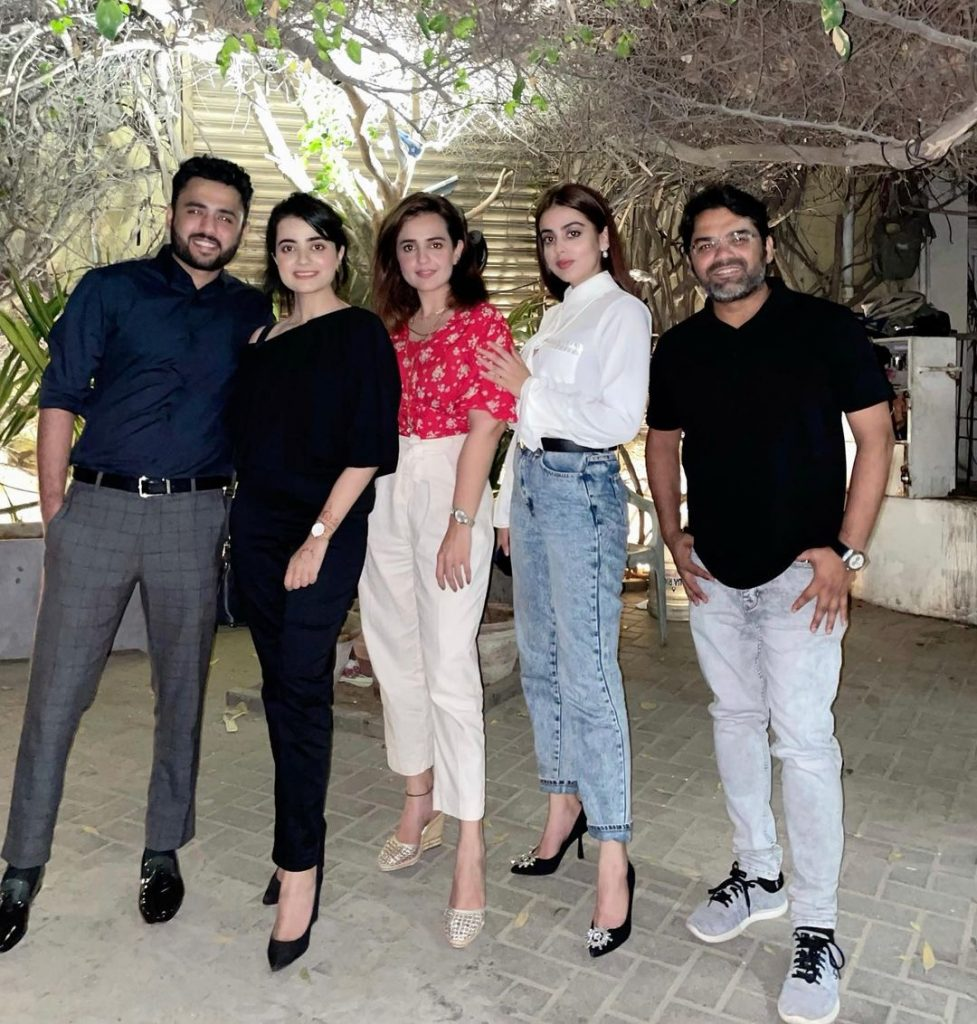 Yashma Gill Hosts After-Marriage Dinner For Newlyweds Kompal And Shumail