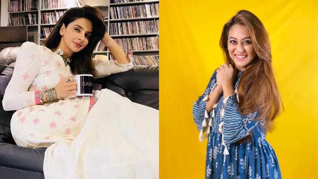 Indian Actress Falaq Naaz About Saba Qamar
