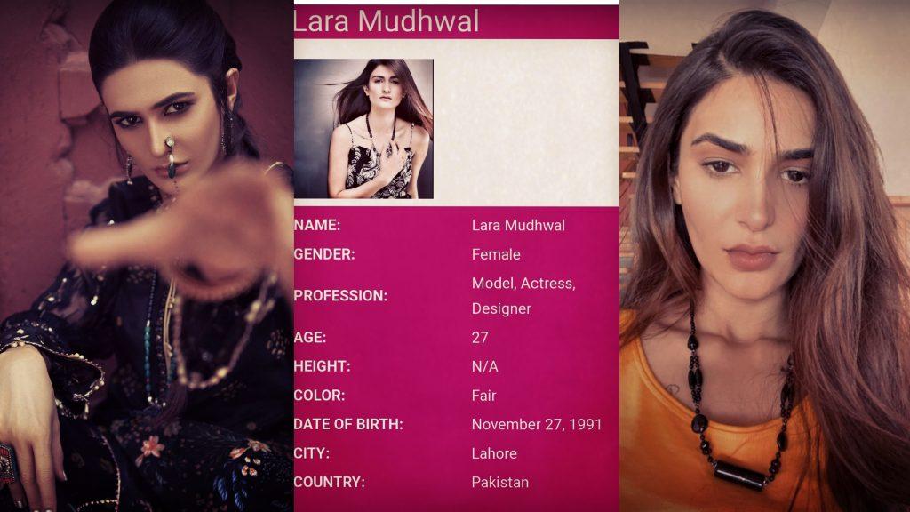 Young Model And Stylist Lara Mudhwal Passed Away
