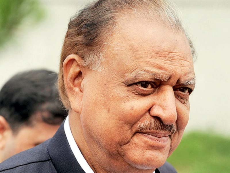 Former Pakistan President Mamnoon Hussain Passed Away