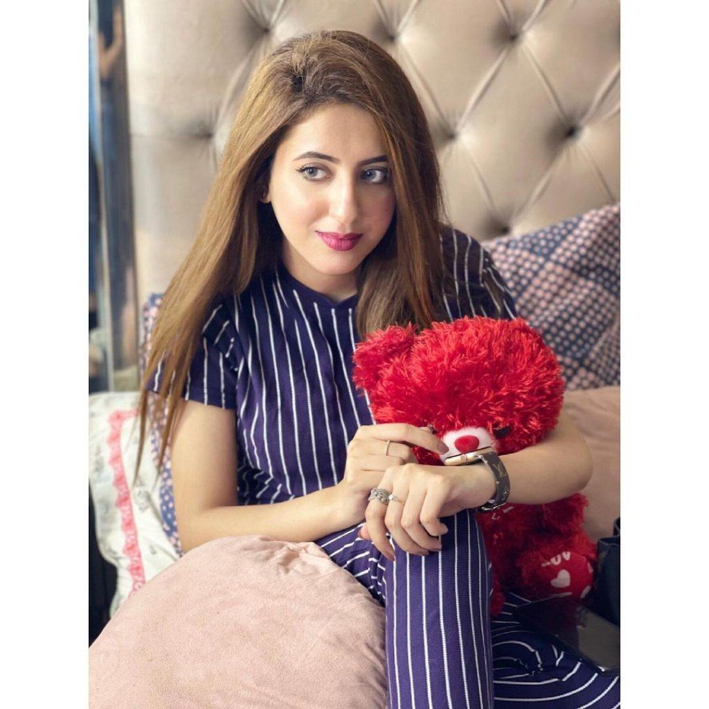 Aleena Salman Saeed Celebrating Birthday - Pictures