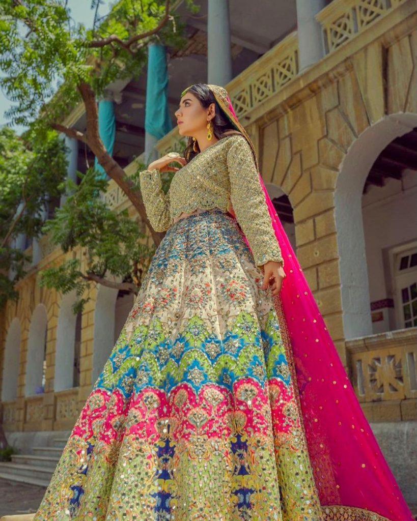 Areeka Haq Stuns in Different Bridal Looks