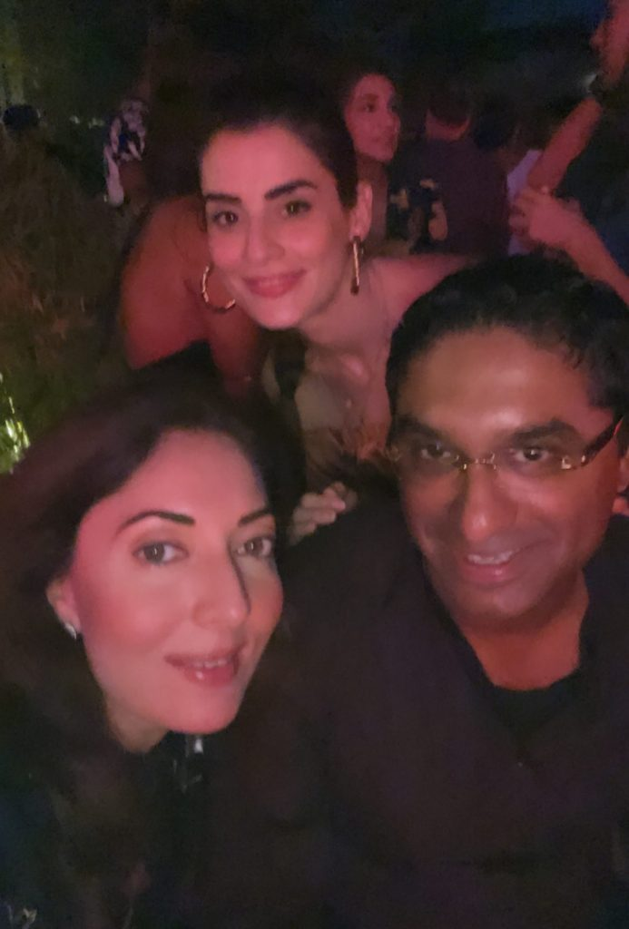 Celebrities Spotted At Nubain Ali's 40th Birthday Party
